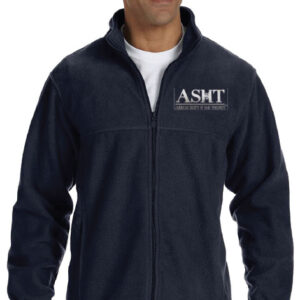 ASHT logo on full Zip Jacket