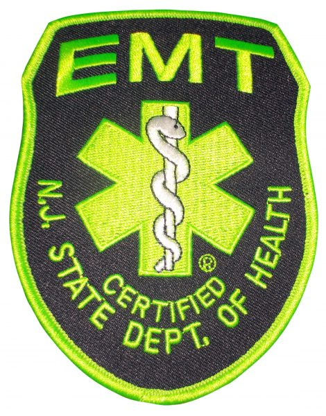EMT Patch in Green Color
