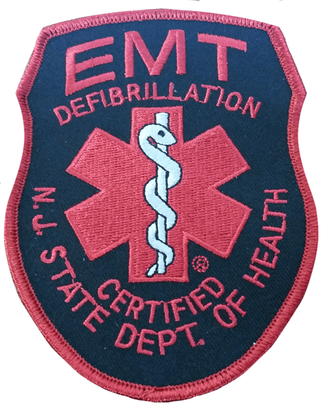 EMT Patch in Red Color