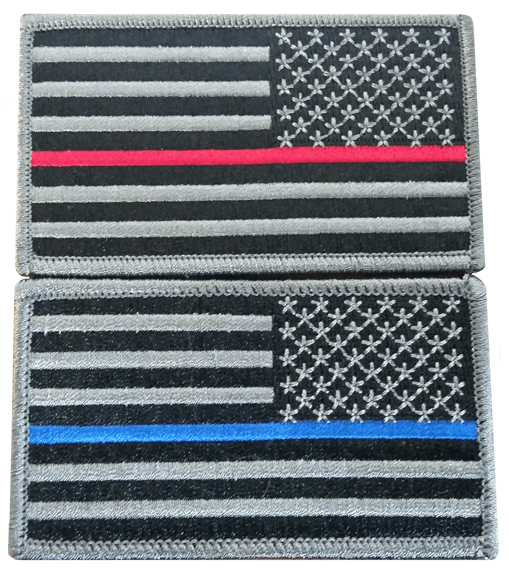 2 US Flag Patch