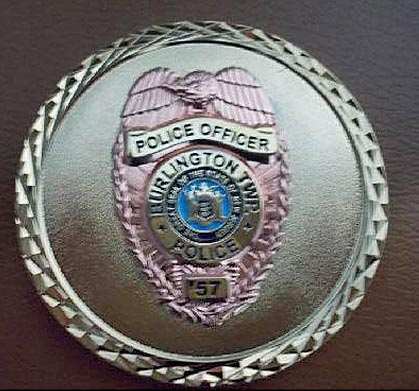 Burlington Township Police Officer Badge