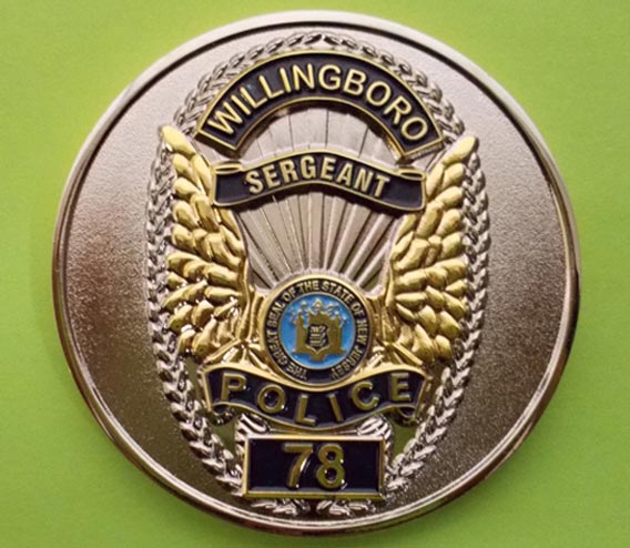 Willinboro Sergeant Badge