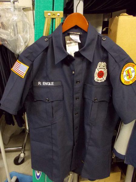 Lumberton FD Uniform