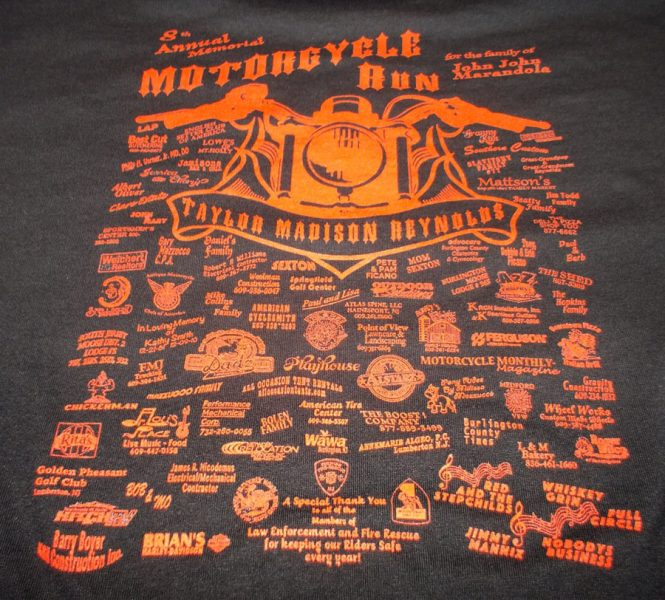 Custom logo on a T-Shirt