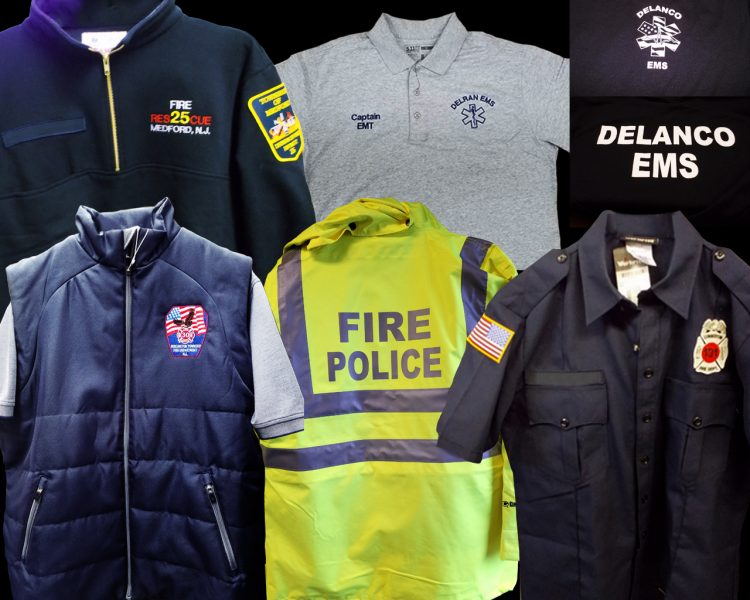 Different uniforms for EMS professions